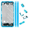 Metal Middle Plate Housing Faceplates Cover for iPhone 4S(Buttons/Screw/Sim Card Tray)