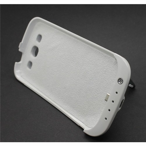 3200mAh External Battery Power Pack Hard Case w/ Stand for Samsung Galaxy S3 i9300
