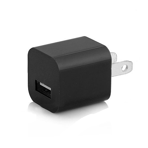 3 in 1 High Quality US Plug Car Travel Charger Kit for iPhone 5 - Black