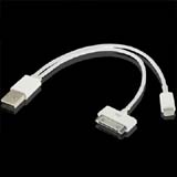 USB Male to Lightning 8 PIN / to 30 PIN Data Sync Charger Converter Cable for iPhone 4S 5G