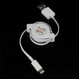 8-pin Lightning to USB Data Sync Charger Retractable Cable for iPhone 5