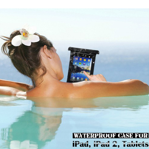 Waterproof Case for iPad 2 for Samsung Galaxy Tab Tablet PC
