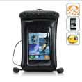 Waterproof Android/for iPhone Phone Case and Earbuds for Swimming