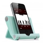 Universal Portable Multi-Angle Stand for iPhone iPad - Blue