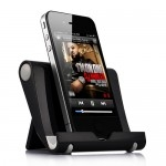 Universal Portable Multi-Angle Stand for iPhone iPad - Black