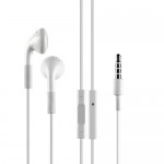 Earphone w/ Microphone and Volume Control Button for iPhone 4 4S 3GS 3G - OEM