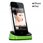 Corplex for iPhone iPod Dock - Green