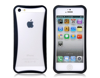 Arc Design Metal Frame for iPhone 5 -Black