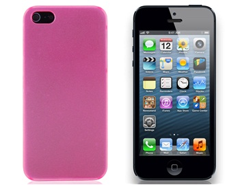 Baseus Baking Finishing Protective Case for iPhone 5 -Pink