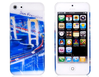 Baseus San Francisco Pattern Matte Plastic Case for iPhone 5