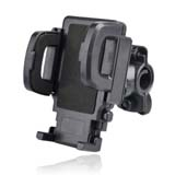 Bike Bicycle Mount Stand Cell Phone Holder  for iPhone 5 -Color Black