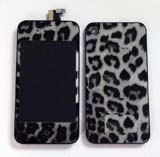 Black leopard Conversion Kits for iPhone 4S