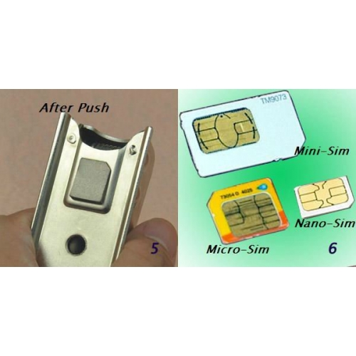 Brand new Nano SIM Card Cutter for iPhone 5