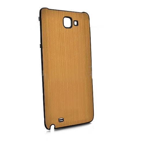 Brush Aluminum Metal Battery Back Cover for Samsung Galaxy Note i9220 GT-N7000 - Gold