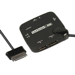Card Reader + USB Connection 3-Port Hub Kit OTG for Samsung Galaxy Tab 10.1 P7500 P7510 8.9