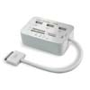 Card Reader for iPad2 iPad3 (Multi-function, Multi USB Interface, 3-Hub)