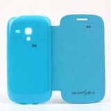 Flip Battery Cover Replacement for Samsung Galaxy S III (S3) Mini -Blue