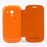 Flip Battery Cover Replacement for Samsung Galaxy S III (S3) Mini -Orange