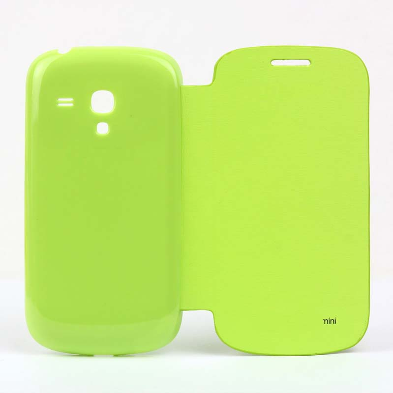 Flip Battery Cover Replacement for Samsung Galaxy S III (S3) Mini -Green