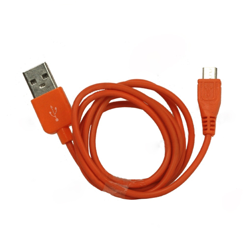 Colored MicroUSB Data Sync and Charging Cable for Samsung HTC Sony Nokia etc