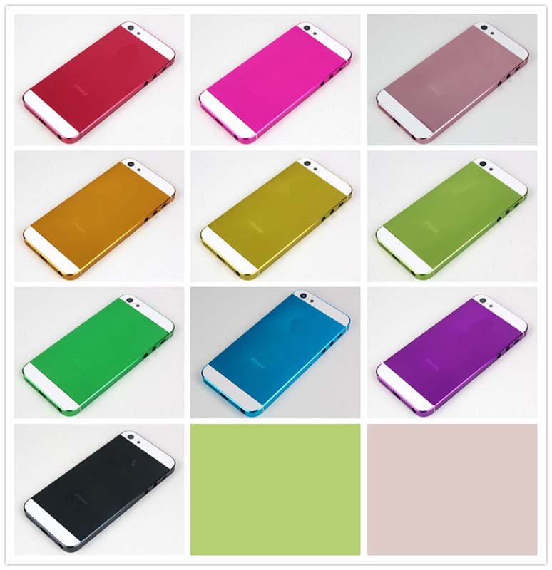 Colorful Electroplating for iPhone5 Mid Frames Housing Faceplates Replacement