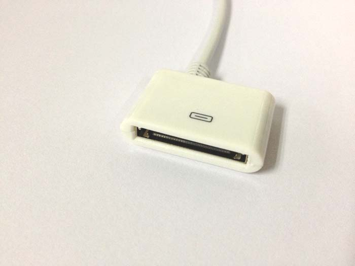 Converter Cable - from for iPhone 5 Male to for iPhone 4/4S Female, to MicroUSB