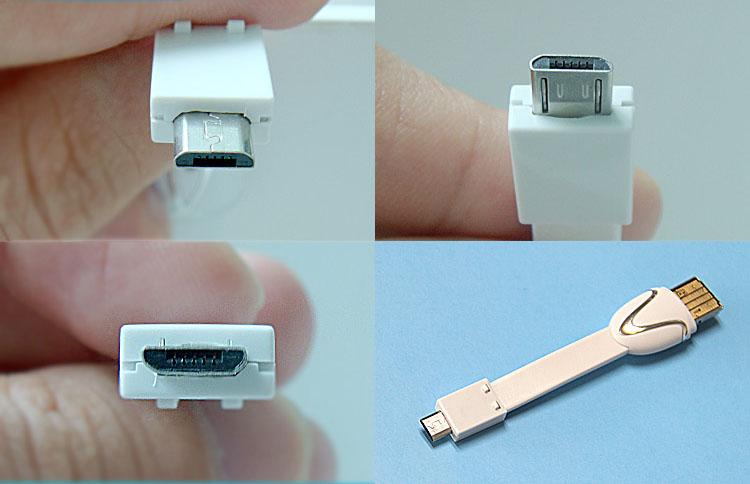 Creative for Samsung HTC Charger + Data Cable + Card Reader and Phone Chain -I design