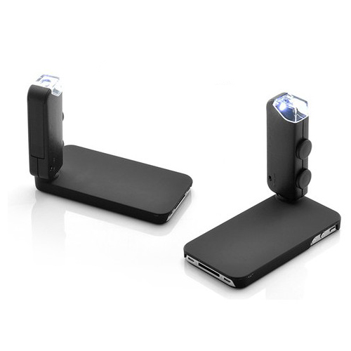 Premium Digital Microscope and Case for iPhone 4 4S - 100x Magnification