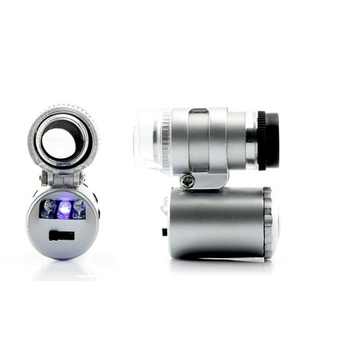 Mini Digital Microscope for iPhone 4 - 60x Magnification