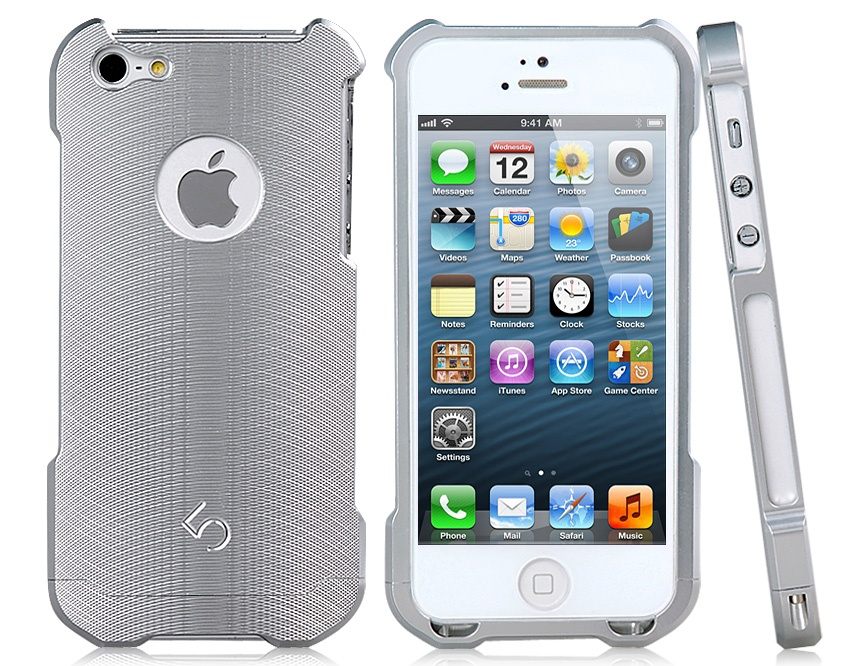 Detachable Metal Bumper Frame Case Cover for iPhone 5
