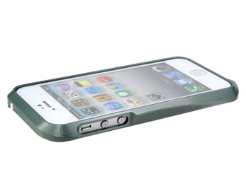 Diamond Design Metal Protective Frame for iPhone 5 -Gray