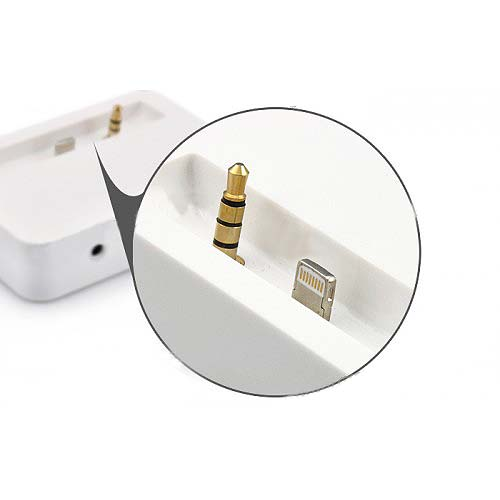 Dock Cradle Charger Station for iPhone 5 - White