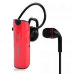 Dual Mic Stereo V2.1 + EDR Bluetooth Headset - (Red AX-662)