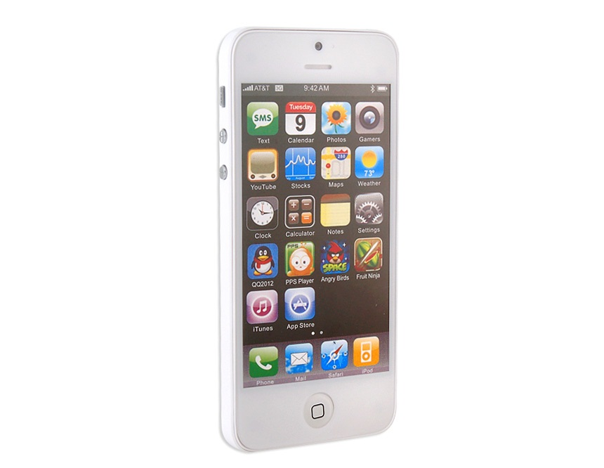 Dummy Display Phone - for iPhone 5 Model -White