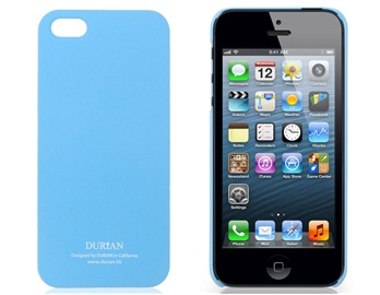 Durian Matte Protective Case for iPhone 5 -Blue