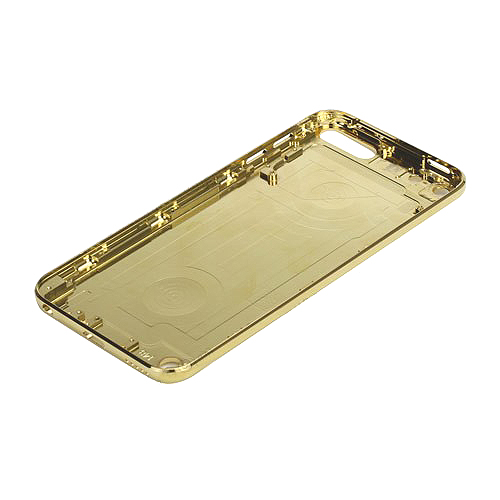 Electroplating Metal Back Cover Housing Faceplates for iPod Touch 5 5th Gen - Gold