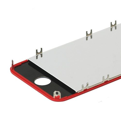 Electroplating for iPhone 4 Conversion Kit (LCD Assembly + Housing + Home Button) - Red