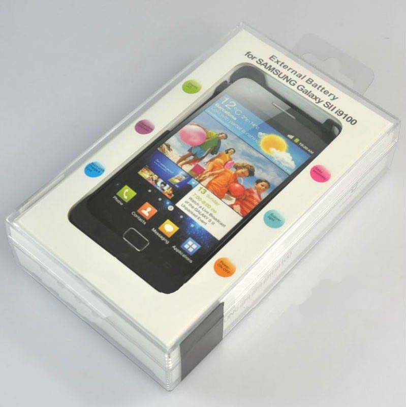 External Battery for Samsung Galaxy Sii S2 i9100 - 2200mAh
