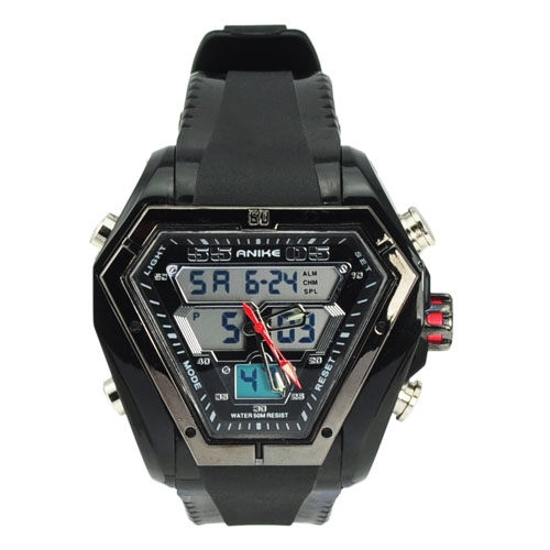 Fashion Special Design CHM SPL ALM 50M Waterproof Dual Time Analog Digital Sport Watches