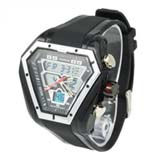 Fashion Design CHM SPL ALM 50M Waterproof Dual Time Analog Digital Sport Watches