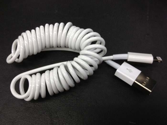 Flexible 8-pin Lightning to USB Charging & Data Sync Cable for iPhone5