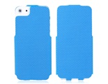 Flip Protective Case for iPhone 5 -Blue