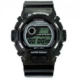 G-SHORS Multi-functional LED Light 30M Waterproof Calendar Alarm Digital Sports Watch -Black