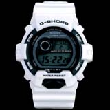 G-SHORS Multi-functional LED Light 30M Waterproof Calendar Alarm Digital Sports Watch -White