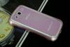 Galaxy SIII i9300 Aluminium Bumper with back cover-Pink /White