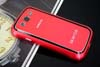 Galaxy SIII i9300 Aluminium Bumper with back cover-Red /black