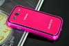 Galaxy SIII i9300 Aluminium Bumper with back cover-Rose /Black