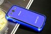 Galaxy SIII i9300 Aluminium Bumper with back cover-Blue /Black