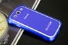 Galaxy SIII i9300 Aluminium Bumper with back cover-Blue /White