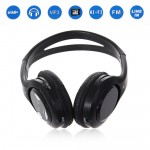 Hi-fi Card Wireless Headphone TM-5800 - Black